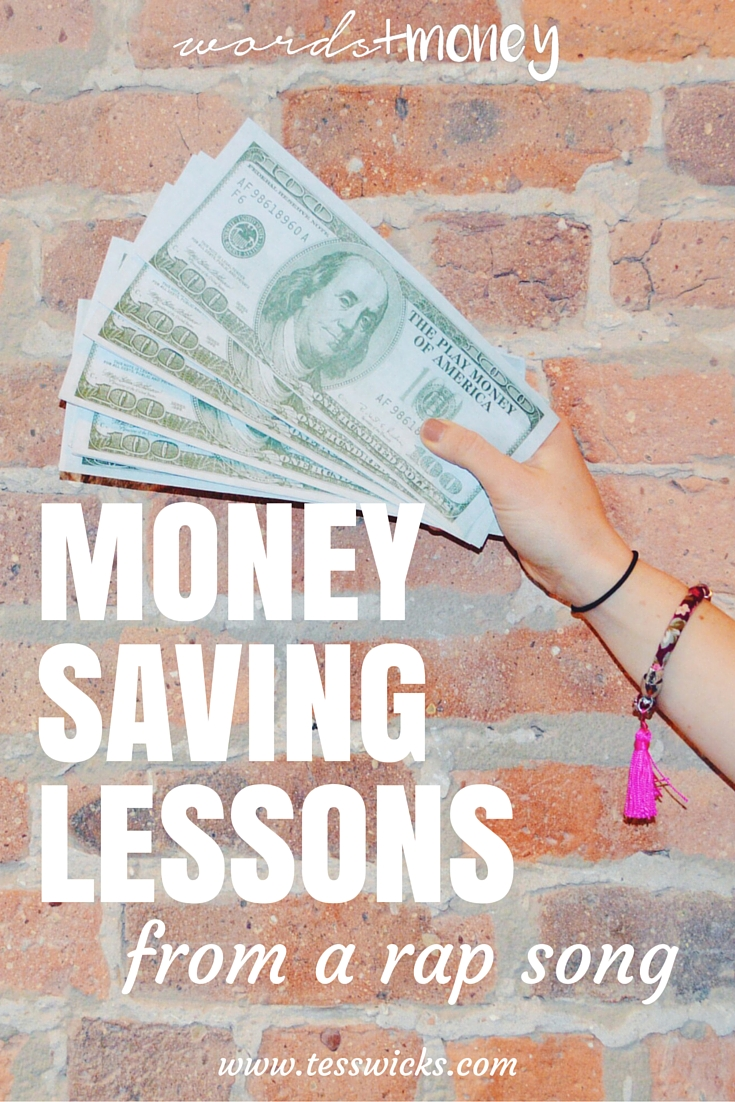 money saving lessons from a rapper