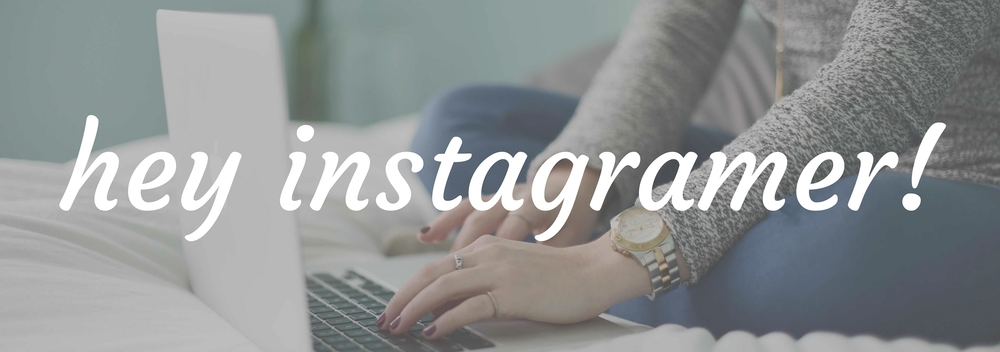 hey instagramer! Welcome to Words+Money