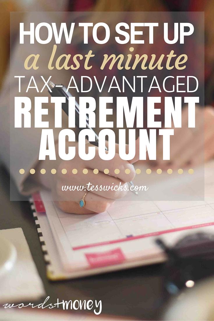last minute retirement options betterment