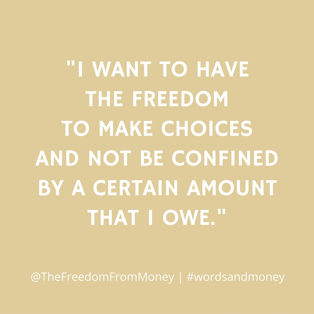 Taylor Milam shares how she blasted away $14,000 of debt in less than a year, why money, in its own right, doesn't buy happiness, and why we need to not care how other people spend their money. All on the Words and Money Podcast.