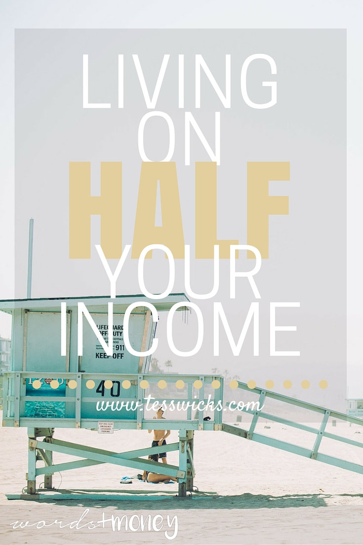 Taylor Milam shares how she blasted away $14,000 of debt in less than a year by living on 50% of her income on the Words and Money Podcast.