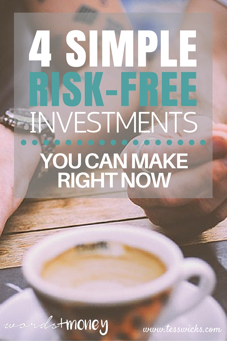 4 Risk Free Investments You Can Make Now - Friendsvesting