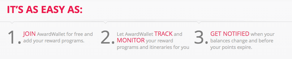 Use Aware Wallet to track your loyalty program points