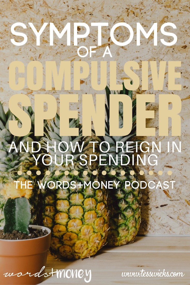Do you have symptoms of being a compulsive spender? Learn how to sit down and decide how much it really costs to live a happy life and curb those spending habits.