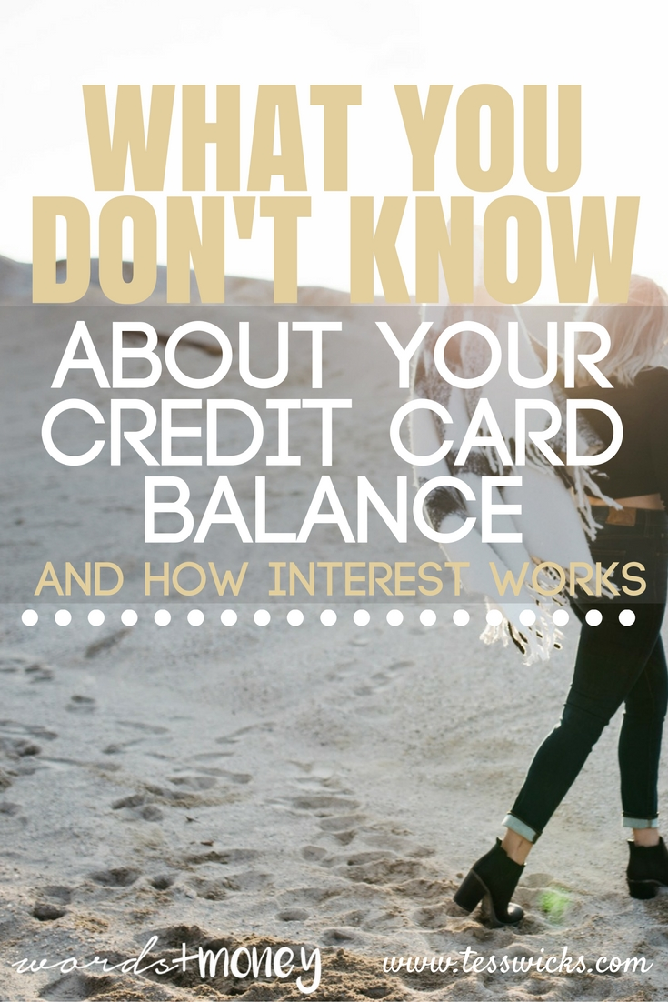 Finally understand how interest is calculated on your credit card balance, how you can pay less by paying sooner, and finally get ahead of that credit card debt.