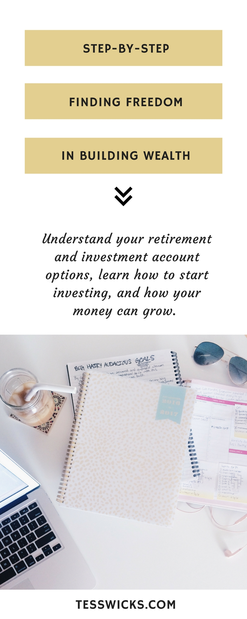 Learn how to build wealth and find freedom by investing in retirement and other investment accounts. This step-by-step interview will help you understand how your money can grow.