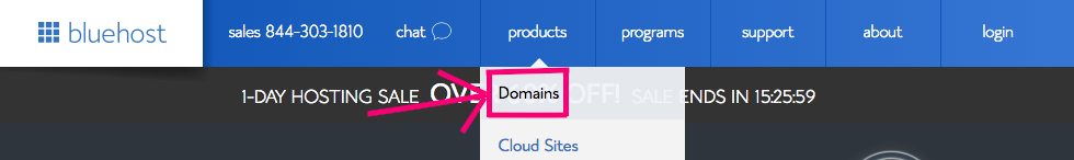 Check if your domain is available.