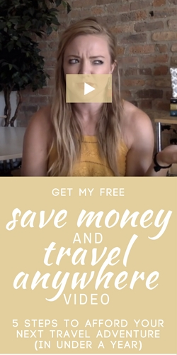 Get my 5 tips to afford your next dream vacation in under a year.