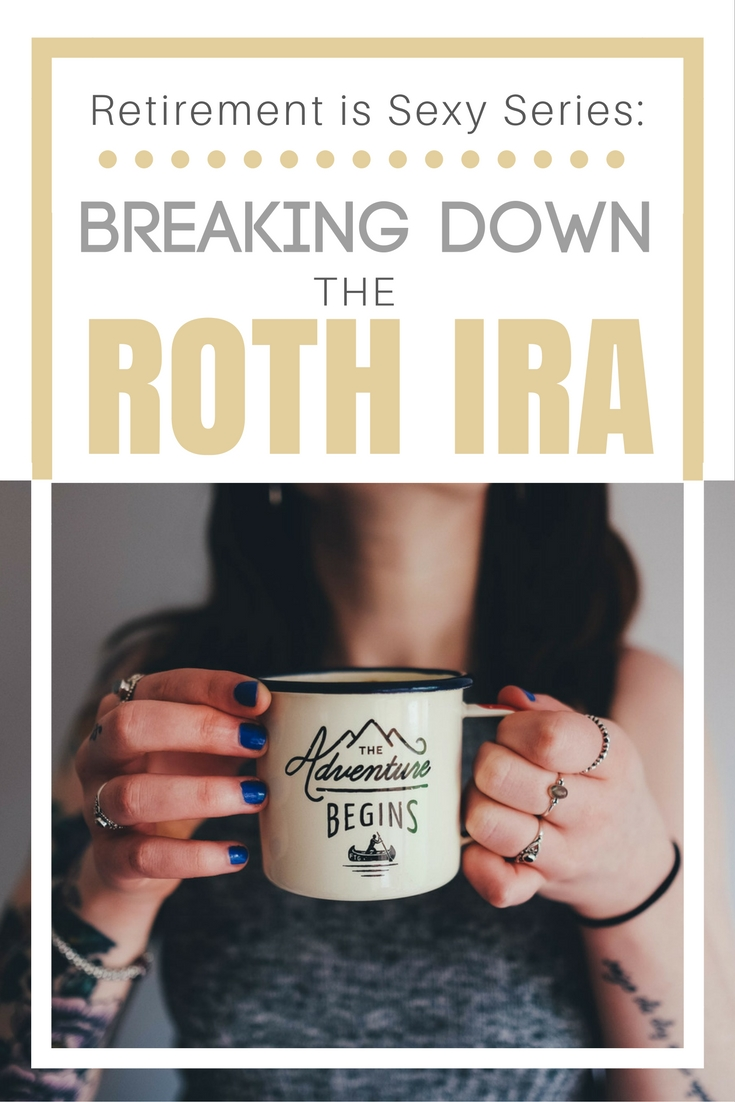 So helpful! :: Breaking Down The Roth IRA :: I always get confused with IRAs and all these different retirement options. This post explains it for me and my situation. Pinning to read later!