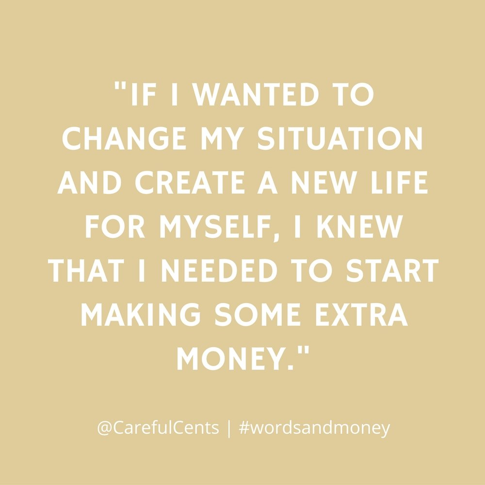 Carrie Smith Nicholson on making extra money and how freelancing changed her life - An interview on the Words and Money Podcast