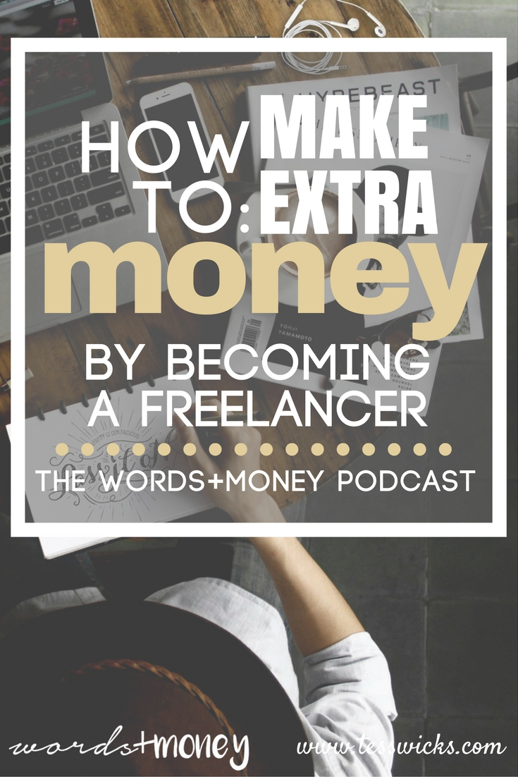 Love this! - How To Make Extra Money by Becoming a Freelancer - I've been looking for actionable advice on how to make money as a freelance writer. This podcast interview came at just the right time! Thanks for sharing!