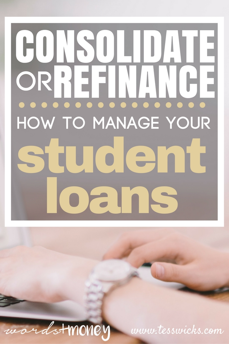 This is great! - Student Loan Consolidation and Refinancing: What is Right for You? - I've been having so many questions on how to make my student loan payments easier and less of a headache. Definitely going to look into these options! - Thanks for pinning!