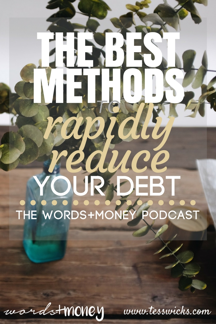 Best Methods to Make Your Debt Payments to Rapidly Reduce Your Loans - This video-podcast is so helpful to learn the different methods on how to pay off debt super fast. Check it out!