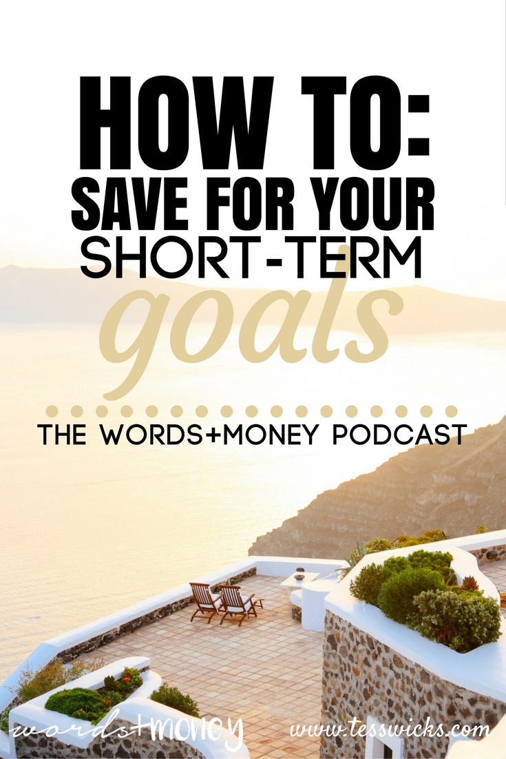 How to Save for Your Short-Term Money Goals - Who knew you needed different savings and investment strategies. Short-term goals, especially, need to be treated differently. Check out this super easy to understand video! Pin for later!