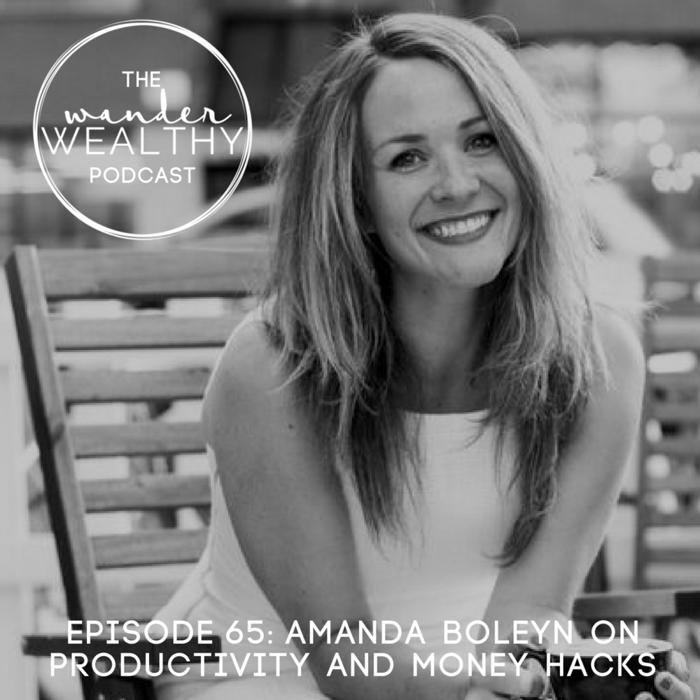 WW 065 Amanda Boleyn on Productivity and Money Hacks