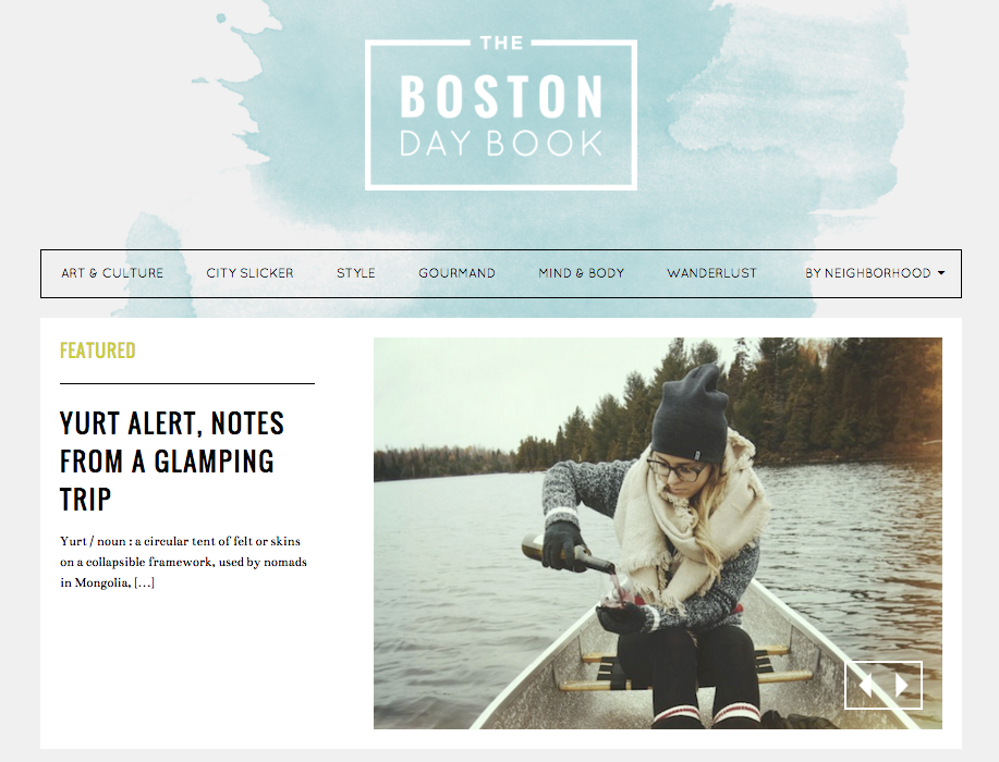The Boston Day Book | Click for Article