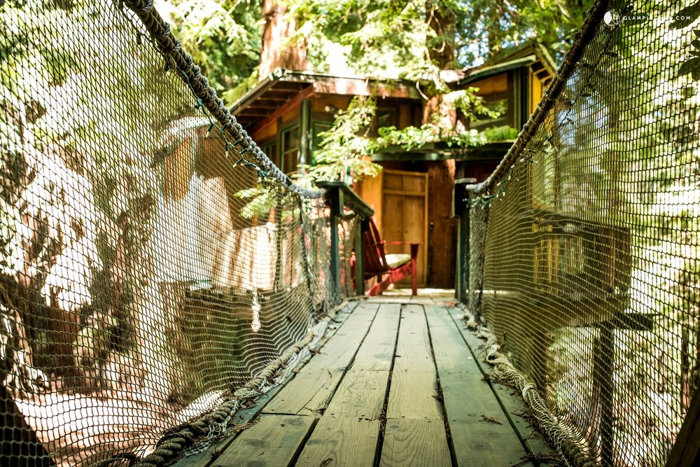 California Glamping Tree House