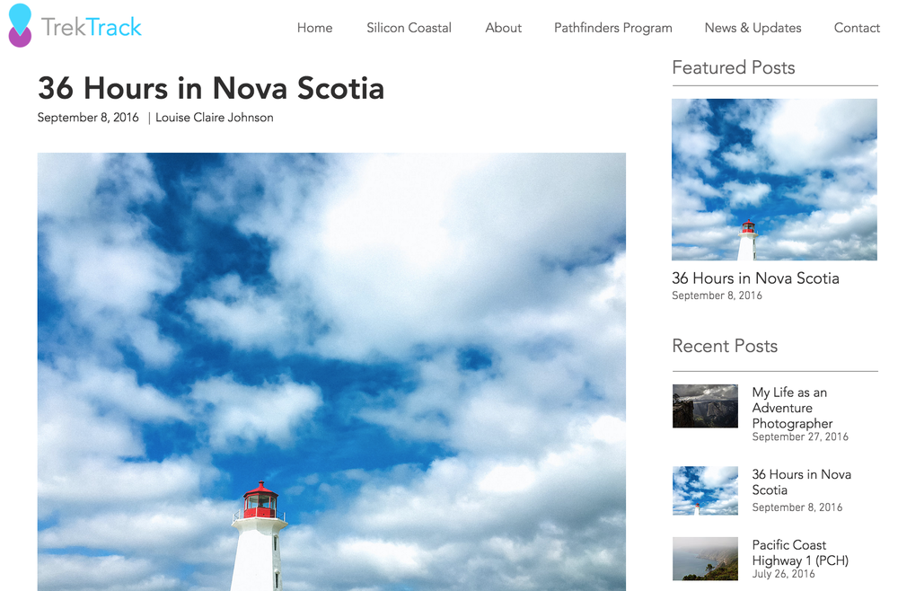 36 Hours in Nova Scotia Louise Johnson