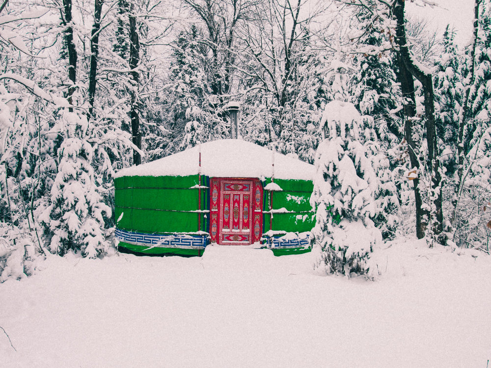 Glamping Hub Louise Johnson - Winter Camping