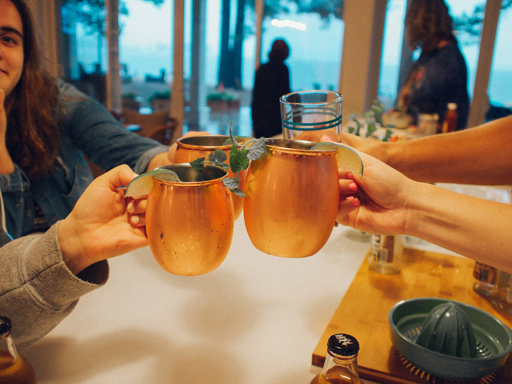The Best Moscow Mule Recipe with Mint