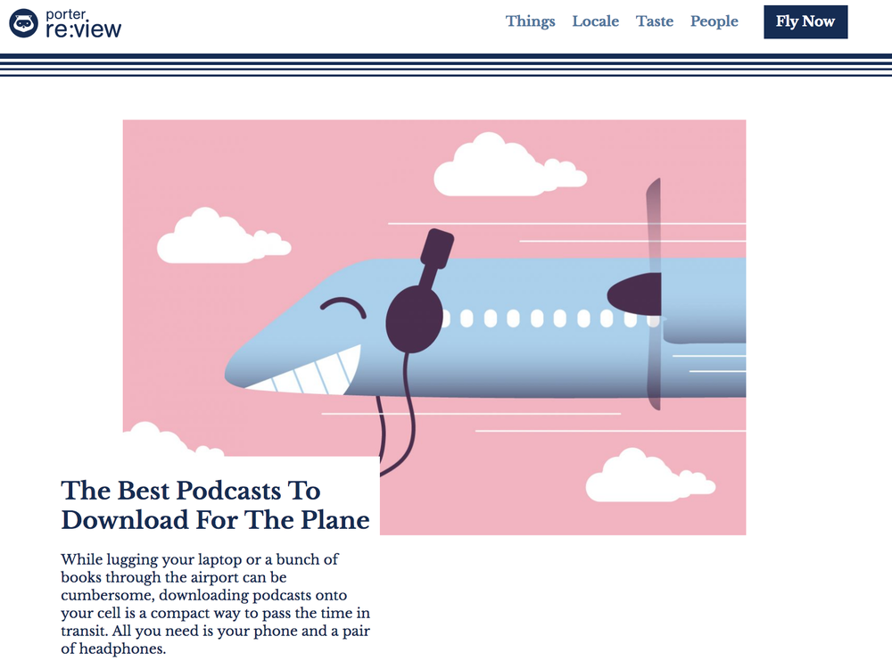 Best Podcasts to Download for the Plane