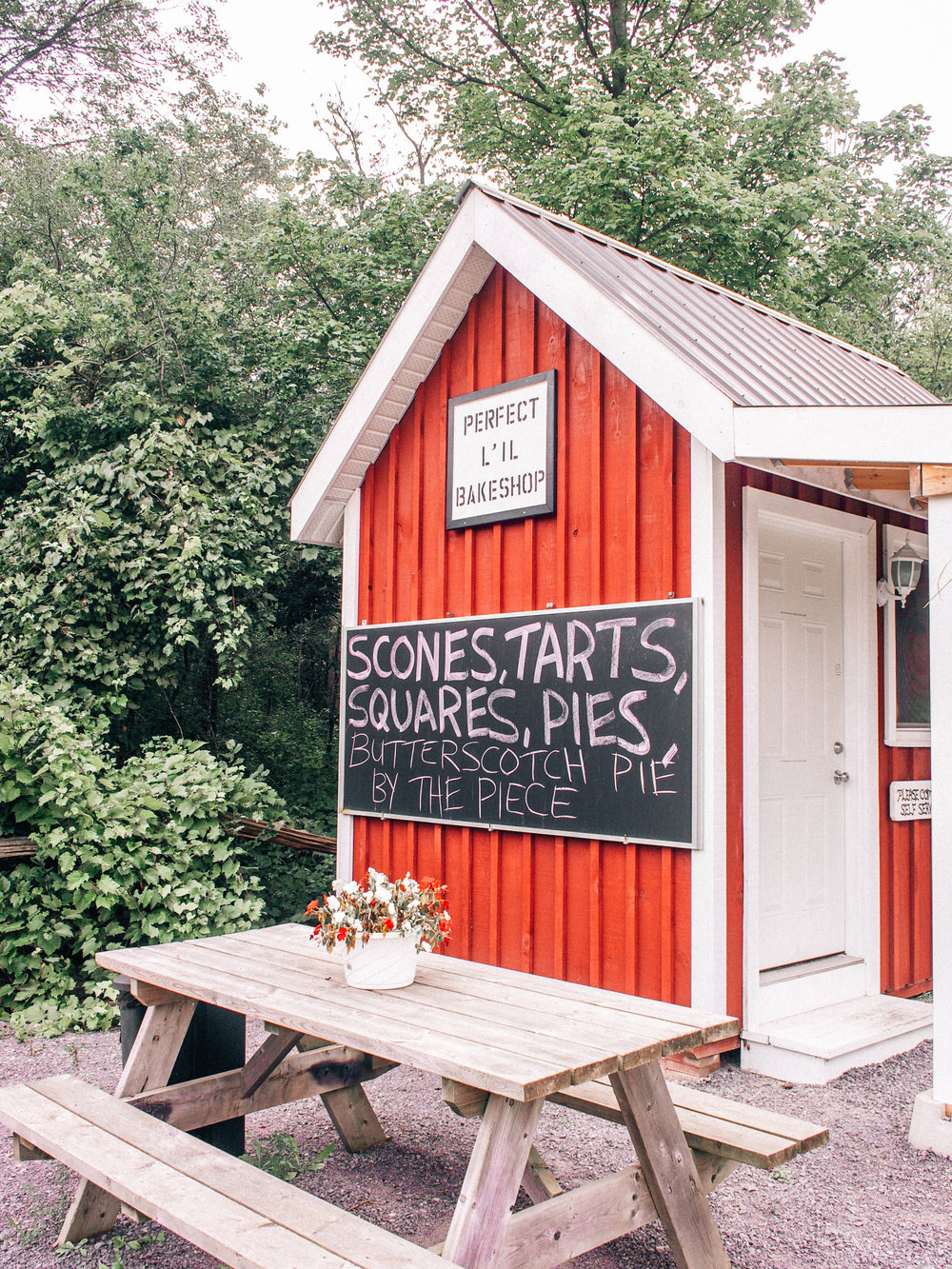 Perfect Lil' Bakeshop in Prince Edward County - By Louise Johnson
