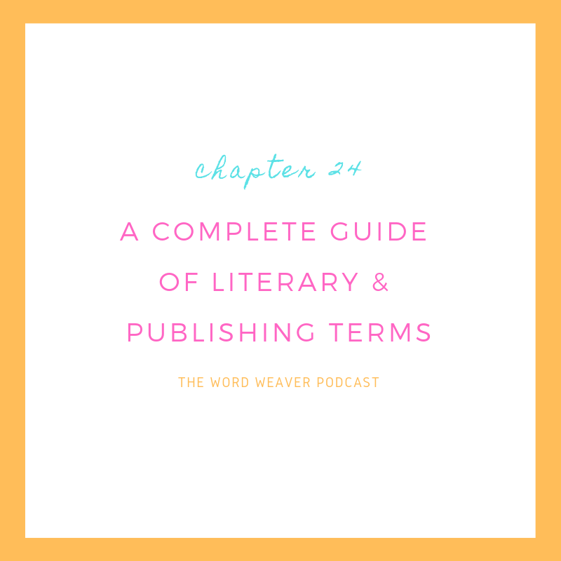 A Glossary of Publishing Terms