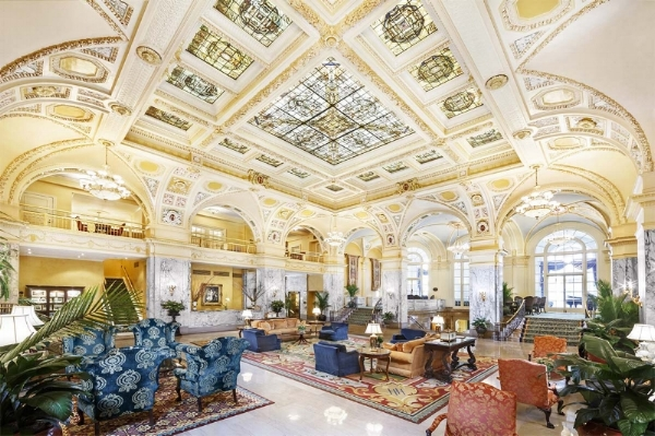 The Hermitage Hotel - The only Forbes Five-Star & AAA Five-Diamond Hotel in Tennessee.
