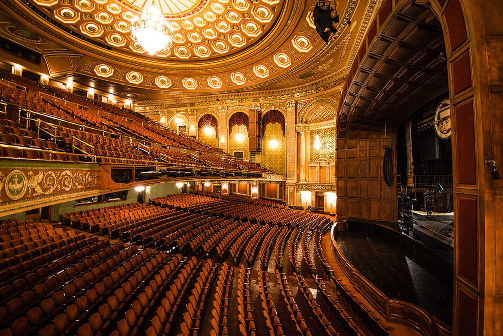 Pastor Jeff recently toured the Benedum Center in Pittsburgh, which is known for its stunning interior. He learned it wasn't always that way.