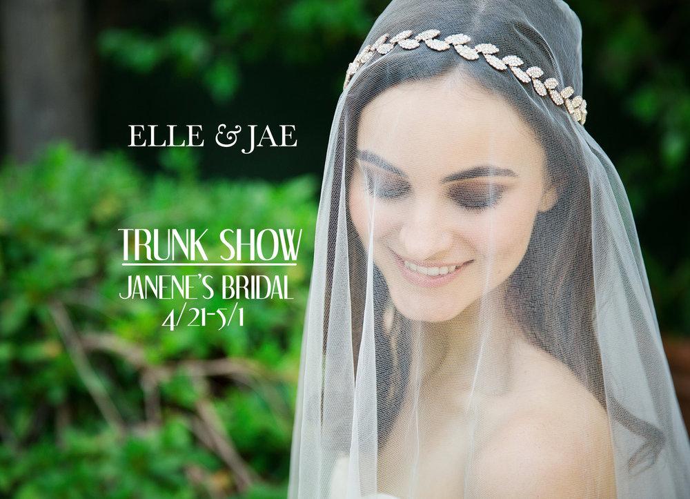 elle & jae trunk show janene's bridal