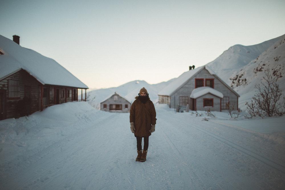 A photo of   Bex Farleigh .   Hatchers Pass, AK