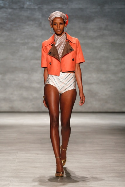 GEORGINE Spring Summer 2015 Look-17