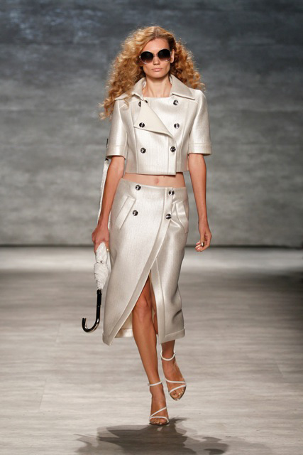 GEORGINE Spring Summer 2015 Look-14