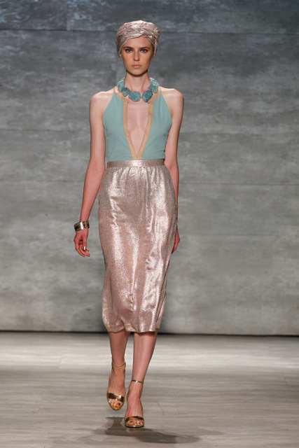 GEORGINE Spring Summer 2015 Look-4