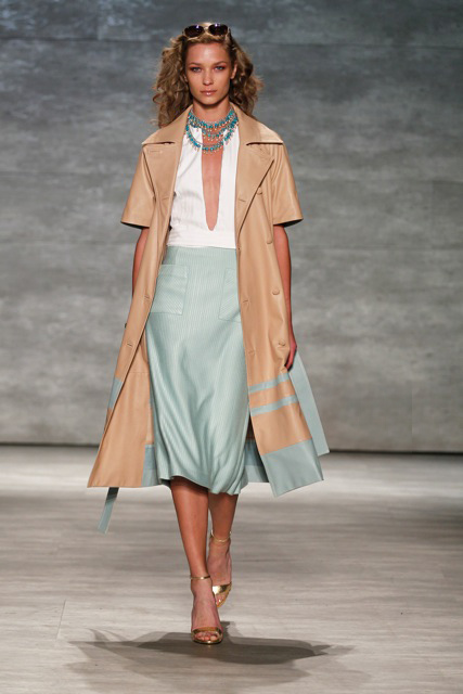 GEORGINE Spring Summer 2015 Look-6