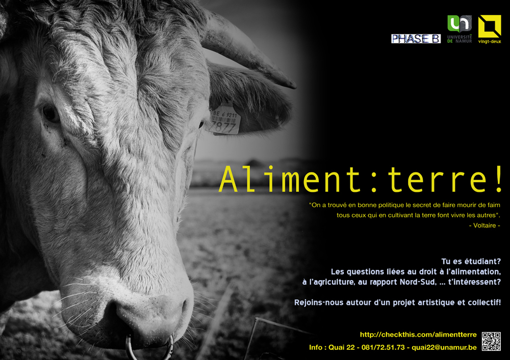 Aliment : terre !