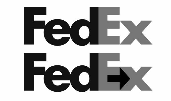 ¿Haviesvist la fletxa del logotipde FedEx?