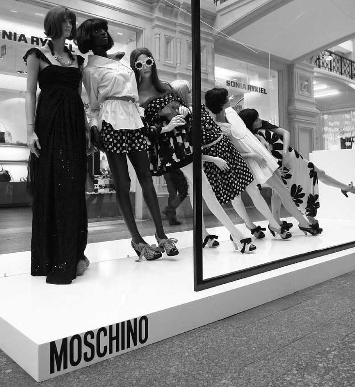 Una proposta genial de Moschino!