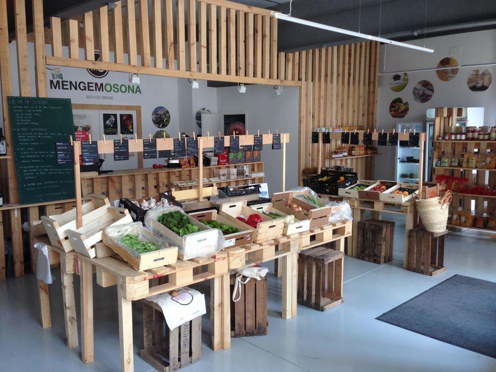 La botiga de MengemOsona a La Torratxa.