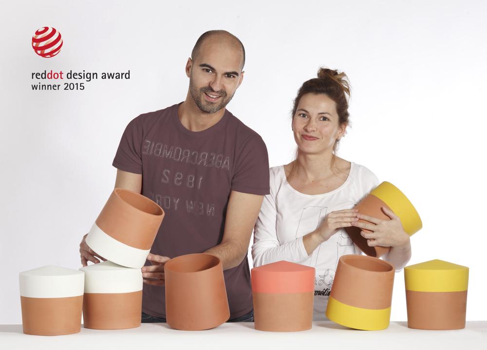 Els creadors del Voltasol són els dissenyadors Xavier Mora i Sandra Compte.