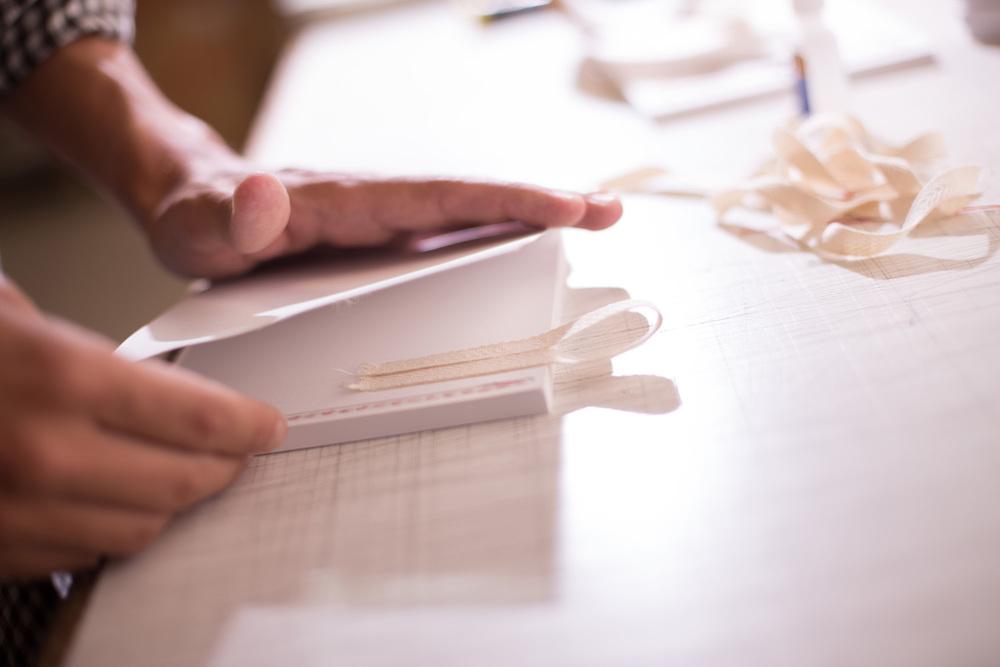 Els àlbums d'Instagrafic s'elaboren seguint un procés de producció artesanal.