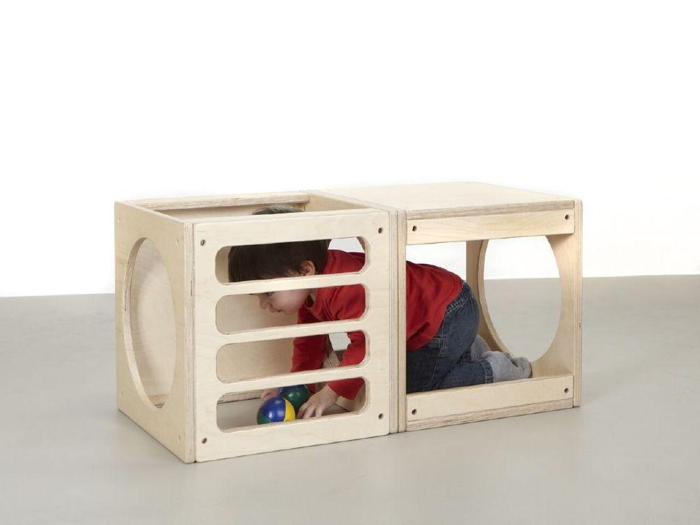 Cub combinable que suggereix diferents usos.
