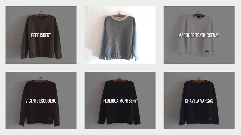Hi ha 12 models de jerseis IAIOS disponibles. Els pots comprar a la botiga DRACS per 49 euros.