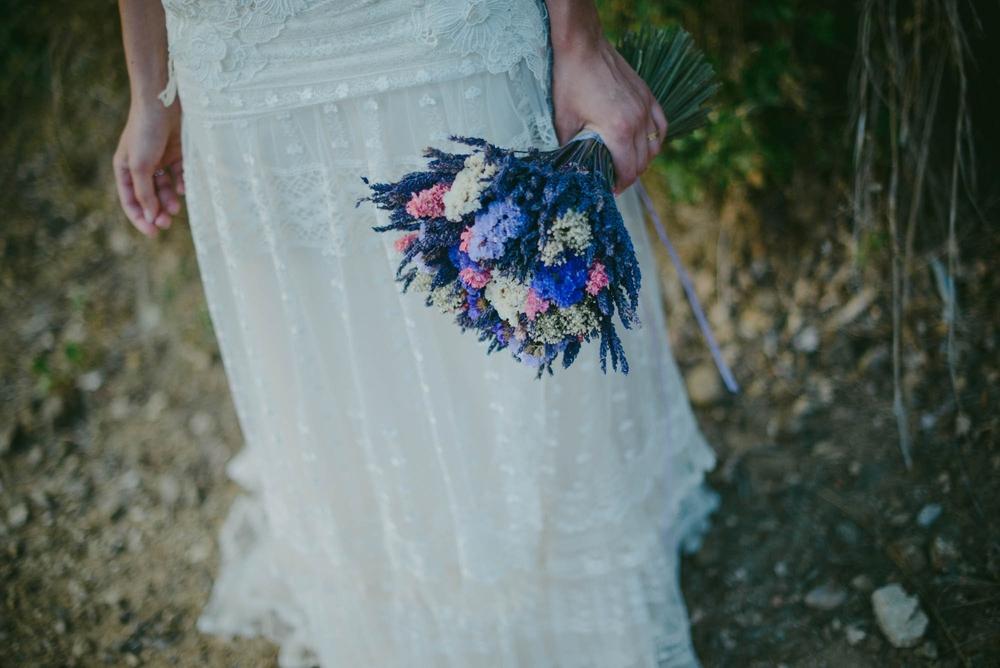 Lavanda Experience treballa per fer-se un lloc en el món dels casaments. Els rams ja són el seu producte estrella.