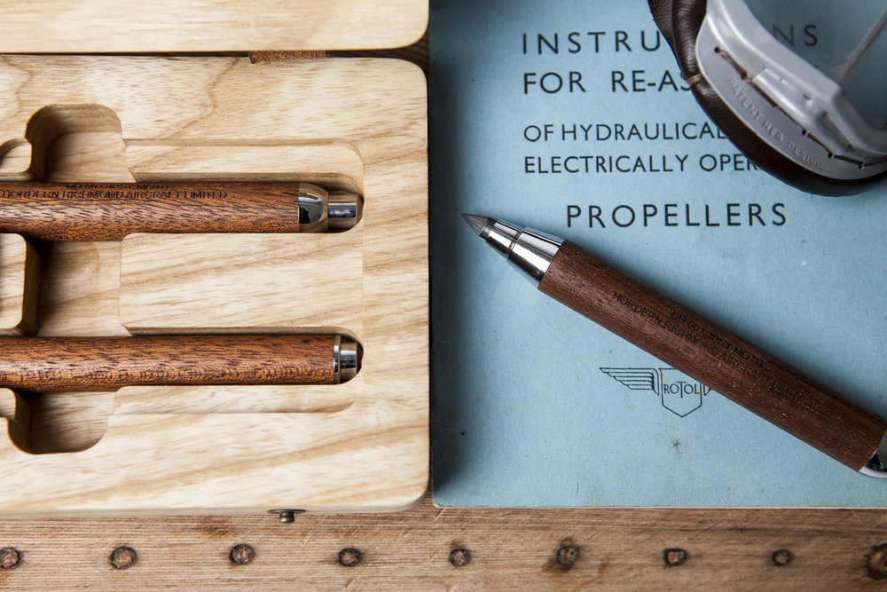Gipsy Moth Pencil