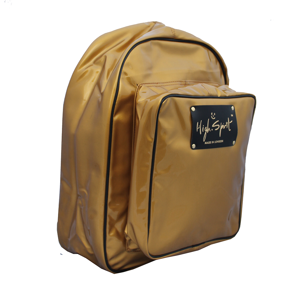 High Spirit Bags Honey Mustard Backpack F.png