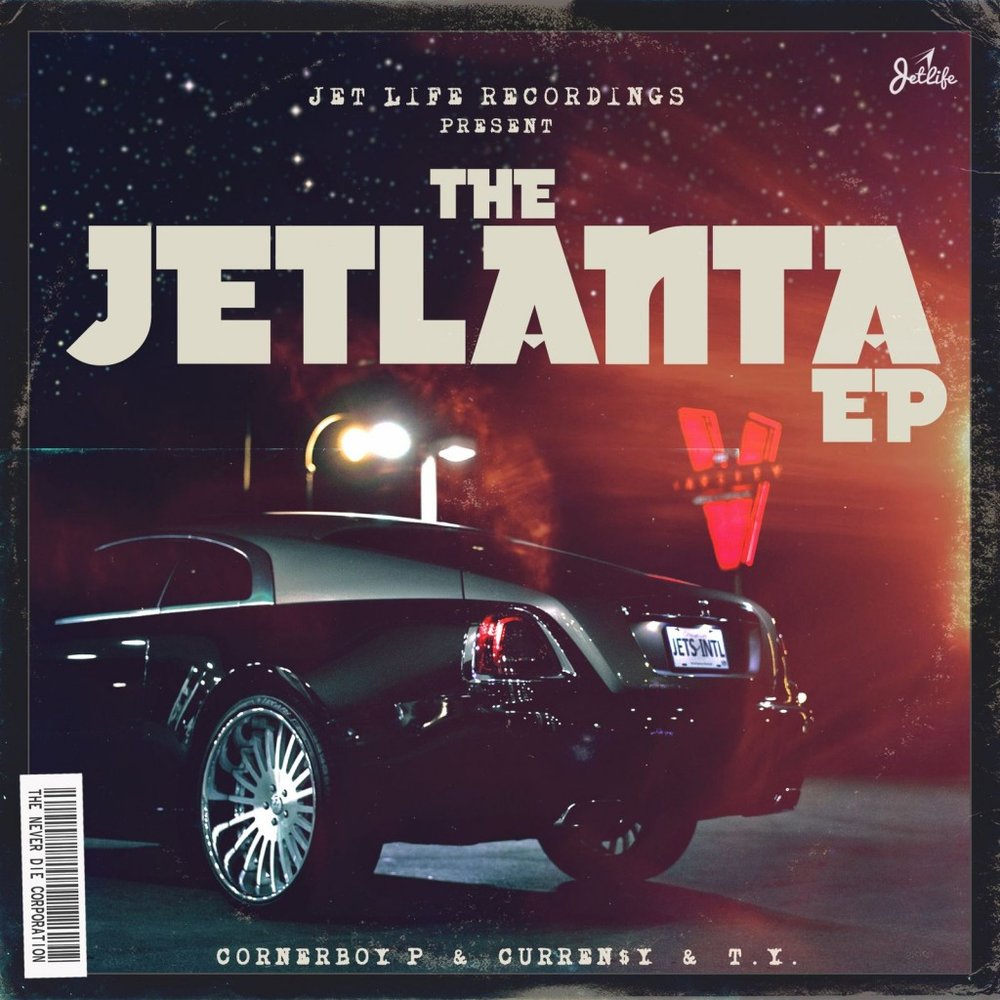 Cornerboy P & Curren$y & T.Y - The Jetlanta EP