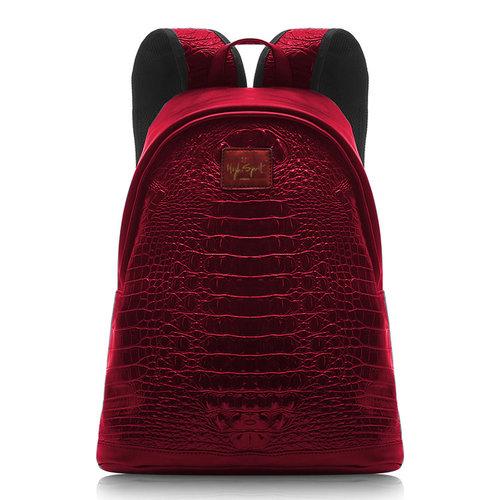 5710f6bafe red metallic high spirit bag