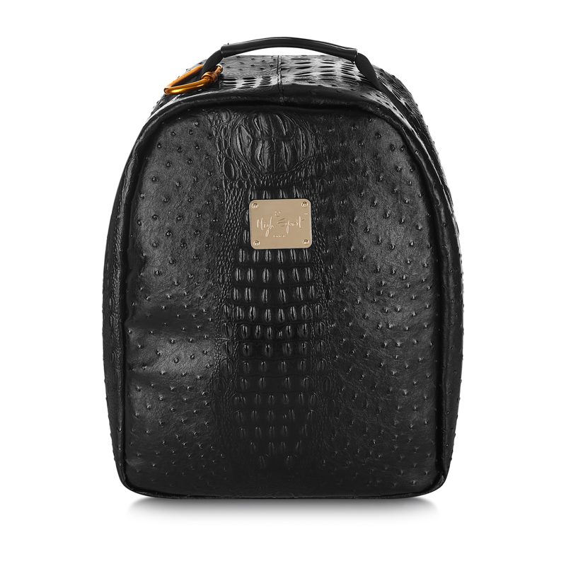 Midnight Ostrich Anti-Theft Backpack (Large) 478ca18716c23