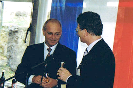 1999 - Mr. Gerrtit Zalm (Minister of Finance of The Netherlands) Mr. Maurice P. Kerens (HTS)